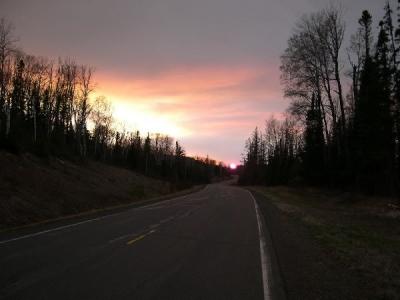Sunset Ham Lake_w_JPG