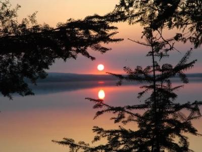 Sunset over Gunflint Lake_JPG