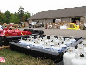 Pagami Creek supplies