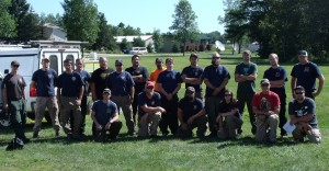 MNICS Crew #3 firefighters met at MIFC July 26.  The crew will stage at Boise, Idaho.