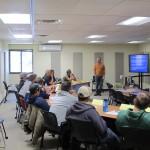 2015 Wildfire Academy classroom