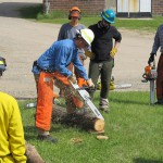 2015 Wildfire Academy Power saws training