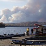 Gunflint Trail prescribed fire for blowdown