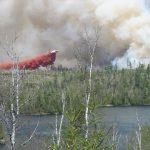 Ham Lake Air Tanker drop