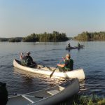 BWCA fire crews paddling
