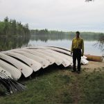 BWCA fire canoe training