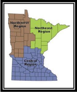 DNR Regional Map
