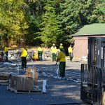 Pagami Creek work center backhaul rehabilitation site