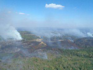 Pagami Creek smoke