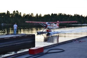 Pagami Creek Beaver aircraft