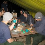 Pagami Creek Spike Camp dinner