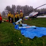 2015 Wildfire Academy Helitak field training 4