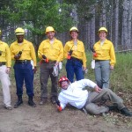 2015 Wildfire Academy S130-190 radio field training break
