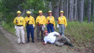 2015 Wildfire Academy S130-190 radio field training break