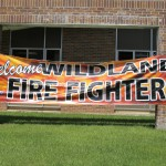 2015 Wildfire Academy Welcome Sign