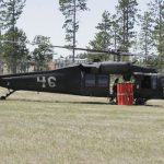 National Guard Blackhawk on ground