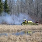 Bowstring prescribed fire